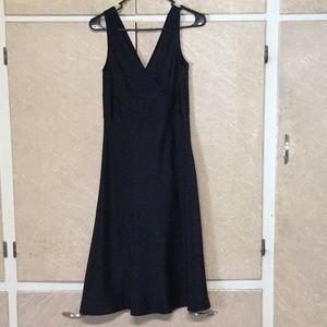 J Crew SOPHIA DRESS in silk tricotine size 2